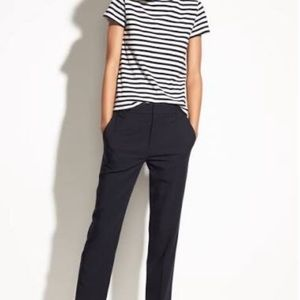 Vince stovepipe stretch crop pants
